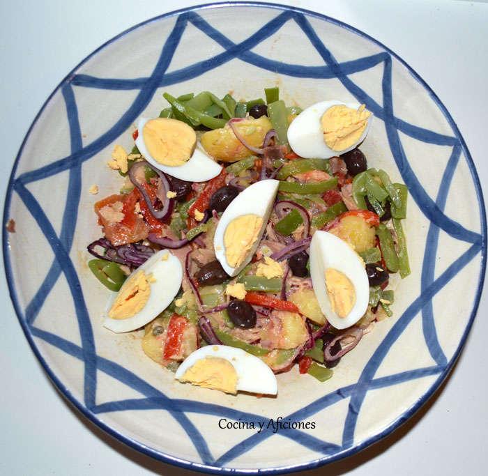 ensalada nicoisse