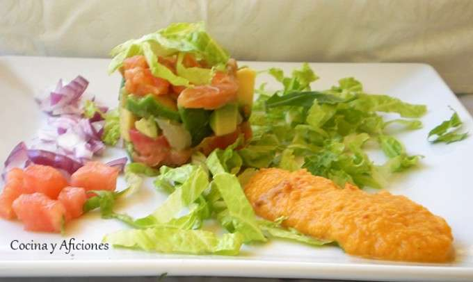 ensalada fresca mejicana