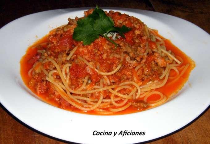 espaguetis bolonesas 3