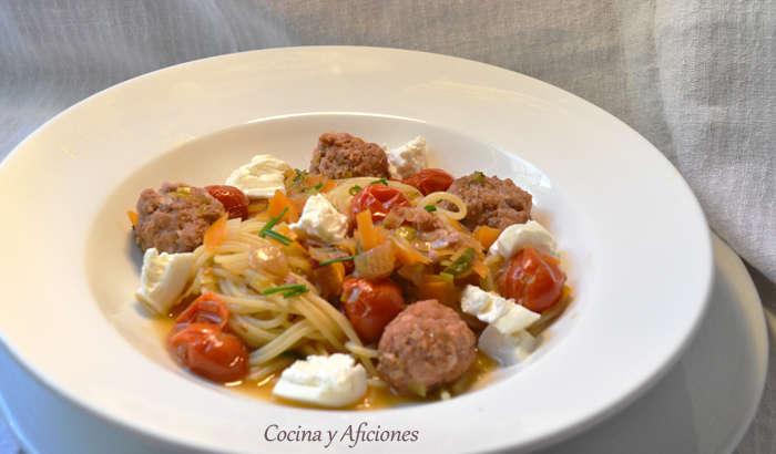 espaguetis salchichas 21