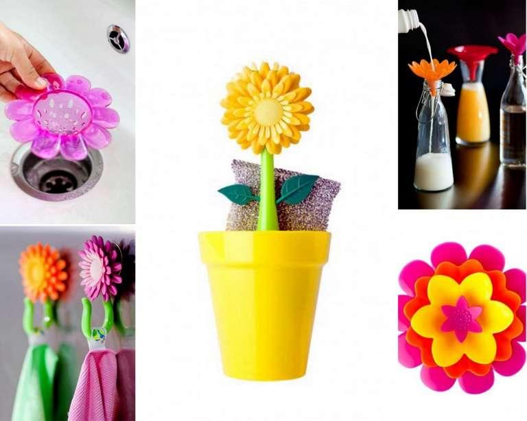 Flores y colores en tu cocina con Vigar
