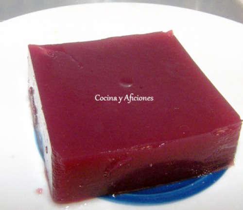 gelatina granada