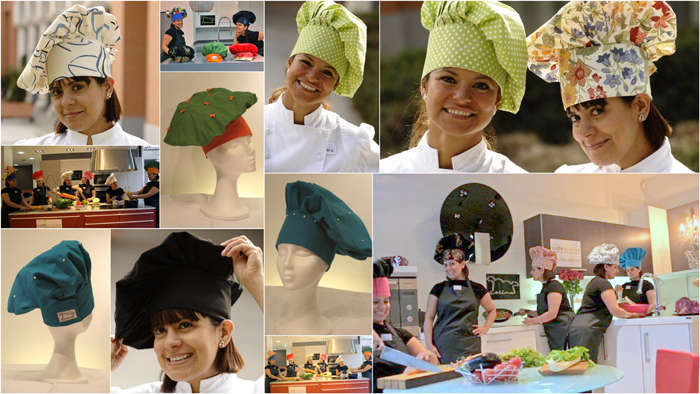 gorro collage