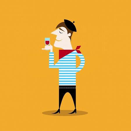 """Vino y salud: los polifenoles y la curiosa """"paradoja francesa""""."""