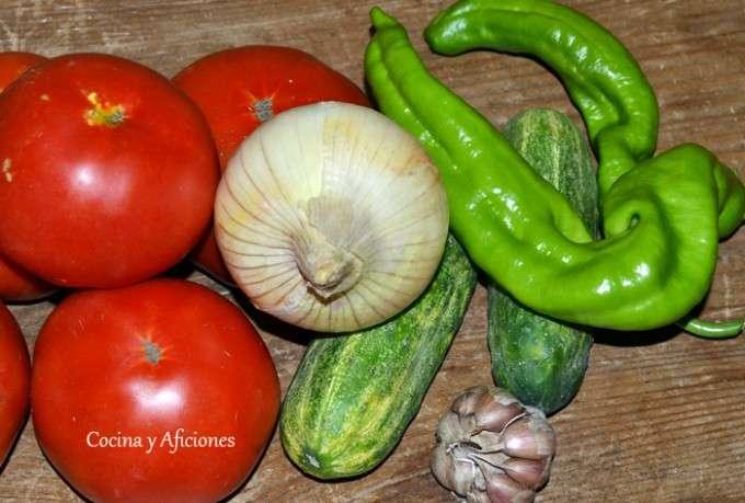 ingredientes gazpacho 2