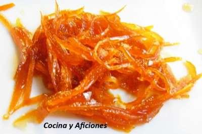 juliana de naranja en almibar