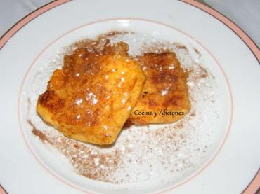 Leche frita, receta muy sencilla paso a paso