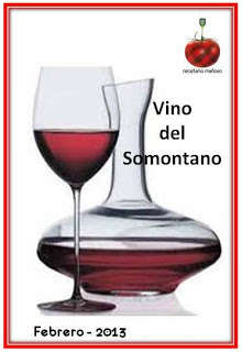 Recetario Mañoso: El vino del Somontano