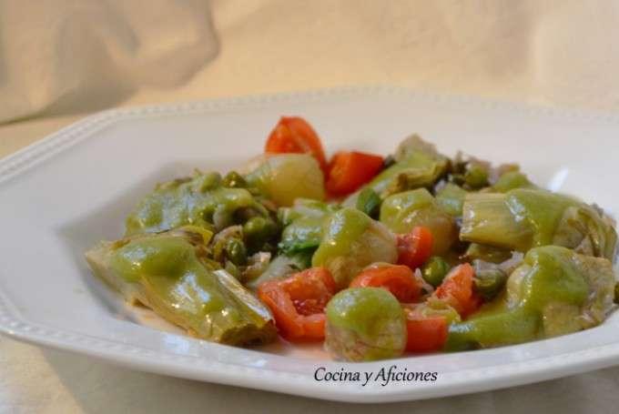 menestra de verduras de elche