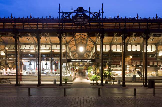mercado de San MIguel fachada