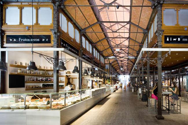 mercado de San MIguel interior