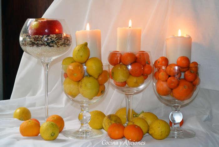 Mis centros de mesa cocina y aficiones - Centros para mesa de comedor ...