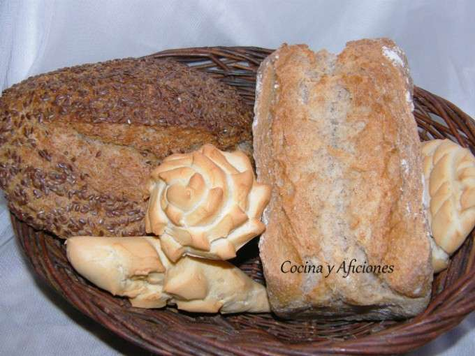 pan en cesto