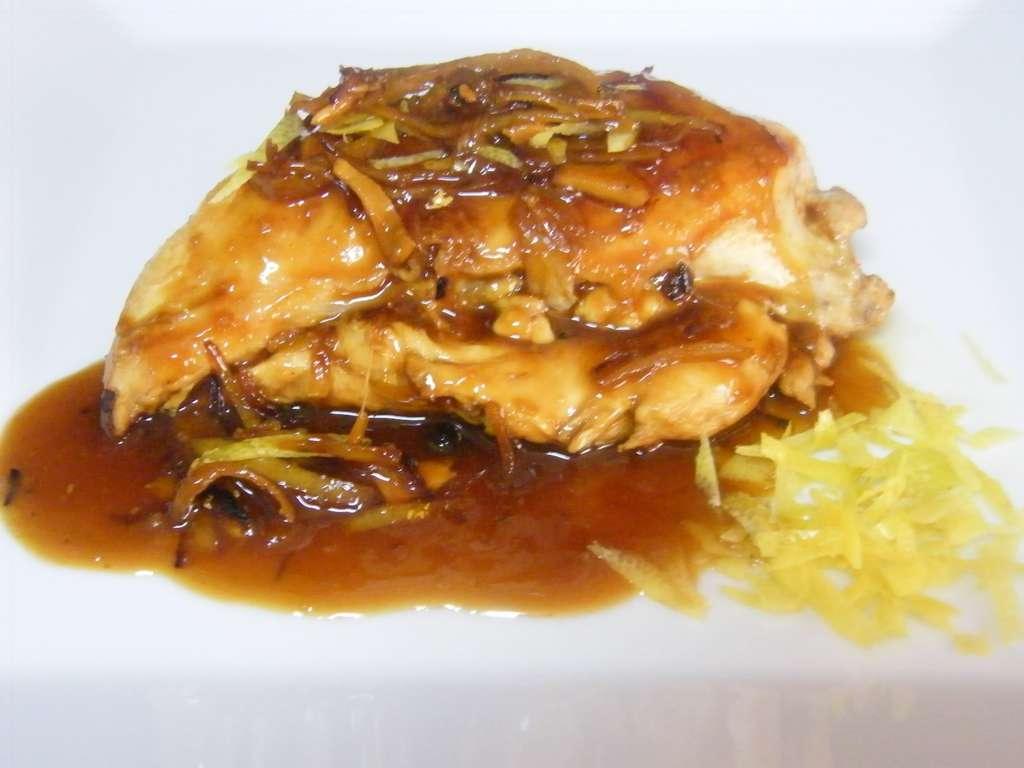 Pechuga de pollo al limón, receta