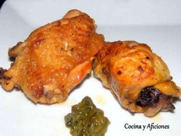 Pollo asado al estilo japones, receta