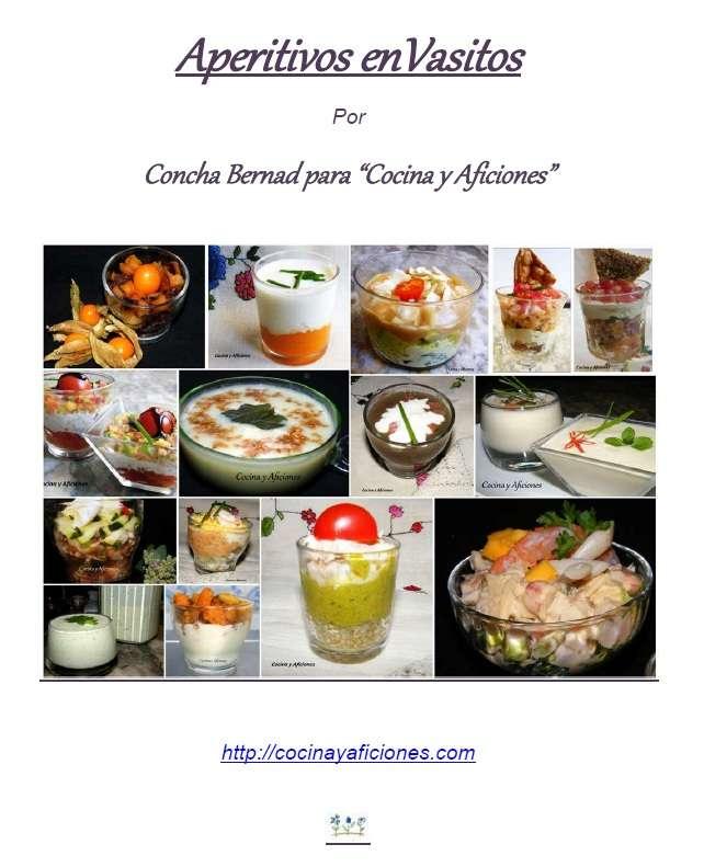 Pdf de las recetas de «aperitivos en vasitos»