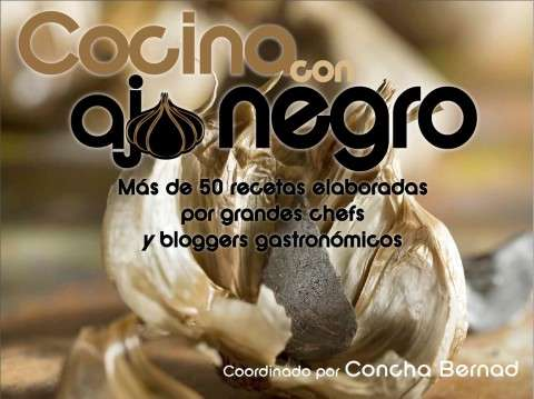 portada cocina con ajo negro