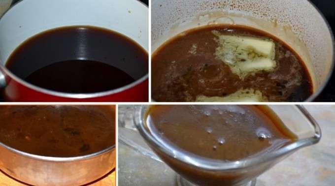 preparando la salsa