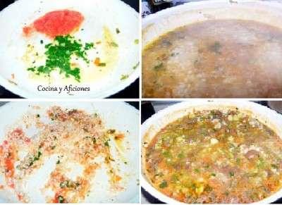 preparar el arroz