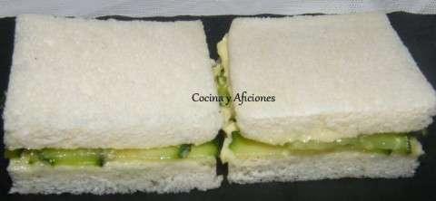 sánwiches de pepino ok
