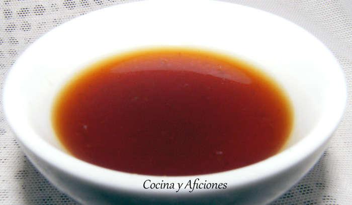 Salsa ponzu, la más famosa de la cocina japonesa. Receta paso a paso.