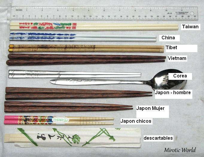seleccion de palillos