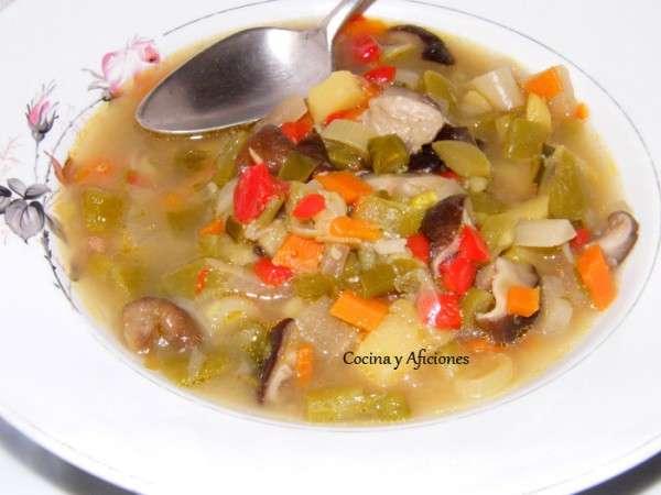 sopa de verduras especial 3