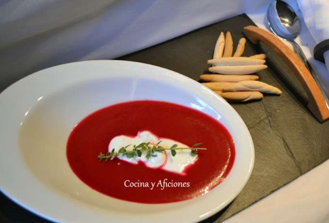 sopa fria de remolacha 4