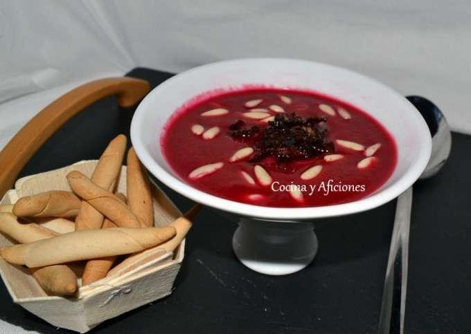 sopa fria de remolacha 5