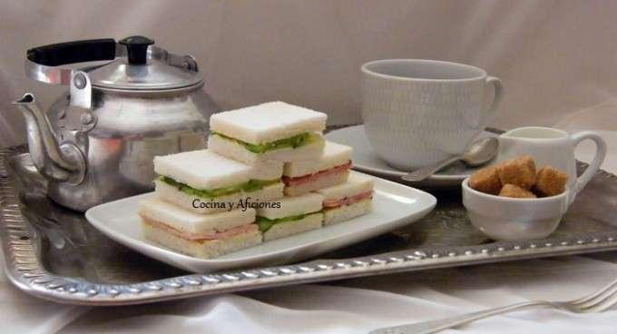 té con sánwiches 1