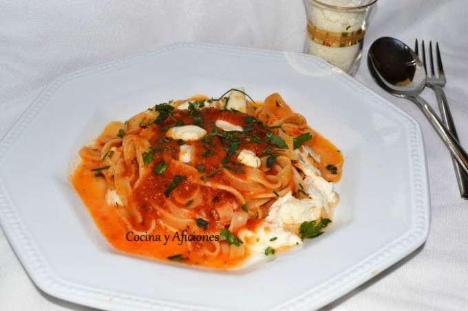tagliatelle tomate mozarella 4
