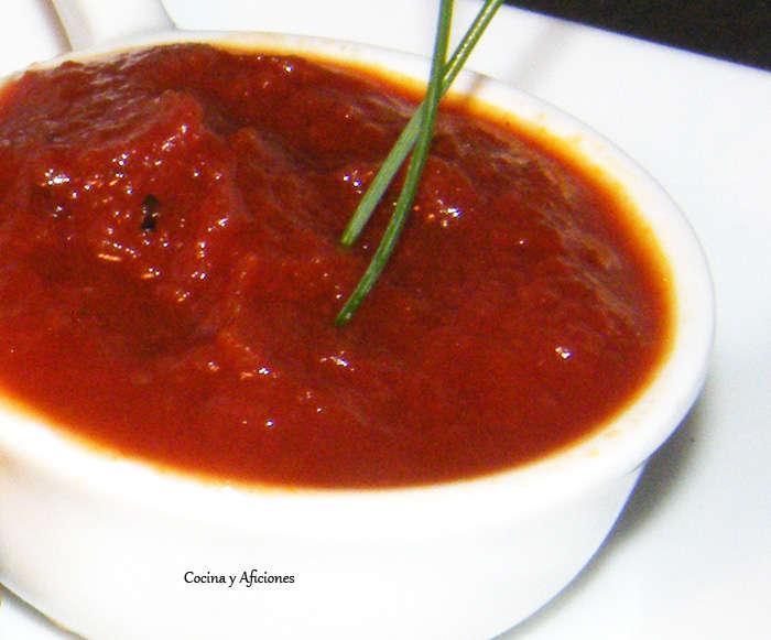 Técnicas de cocina: tomate frito.