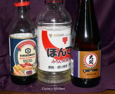Ingredientes imprescindibles en la  cocina japonesa 1º parte, apuntes.