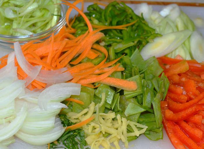 verduras yakisoba