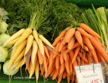 Técnicas de cocina: cortes variados de una zanahoria